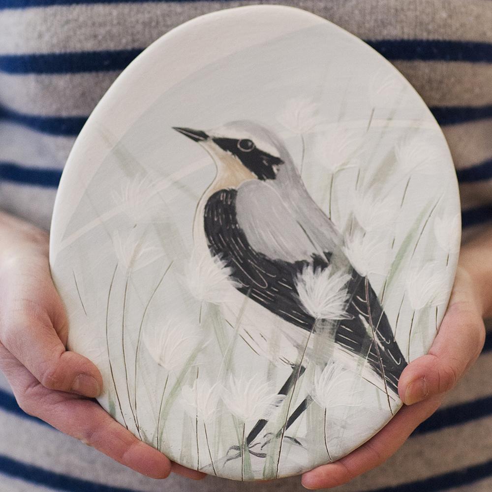 Wheatear  ceramic  24x20cm  £125