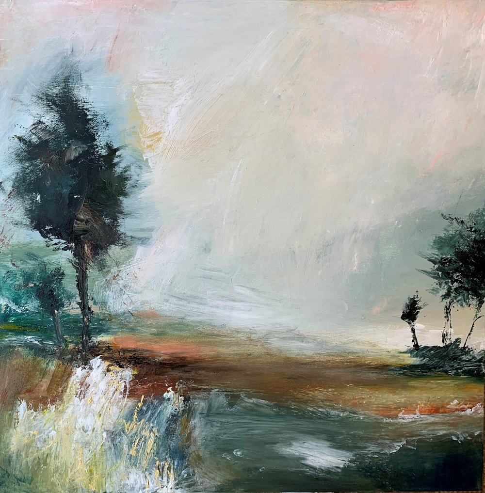 Stem  oil on canvas  62cm x 62cm  £795