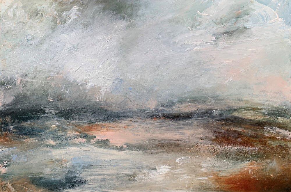 Perfume  oil on canvas  76cm x 50cm  £895