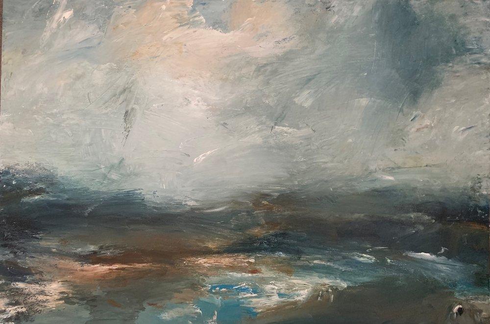 oil on canvas  76cm x 50cm  £895