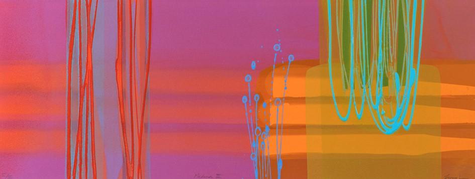 Medina III  mono print acrylic on paper framed size 43 cm x 93 cm.jpg