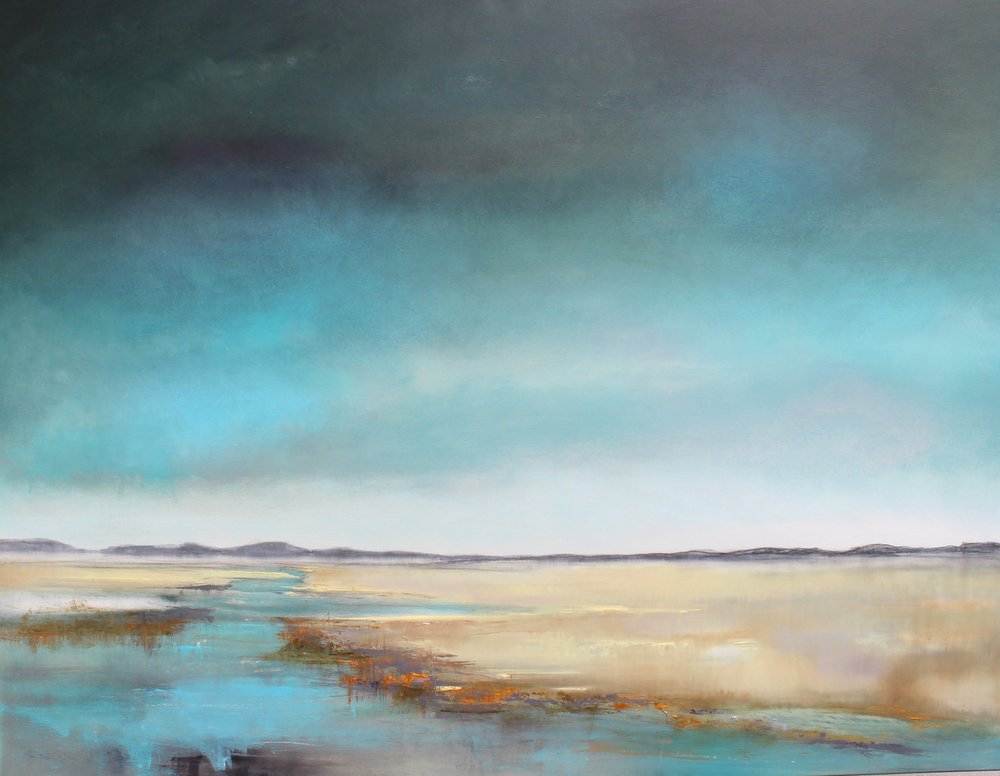 Still  oil on canvas with graphite  120 x 100 cm  £3470
