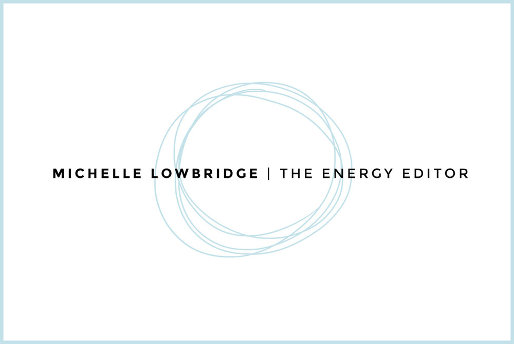Branding : Michelle Lowbridge - The Energy Editor