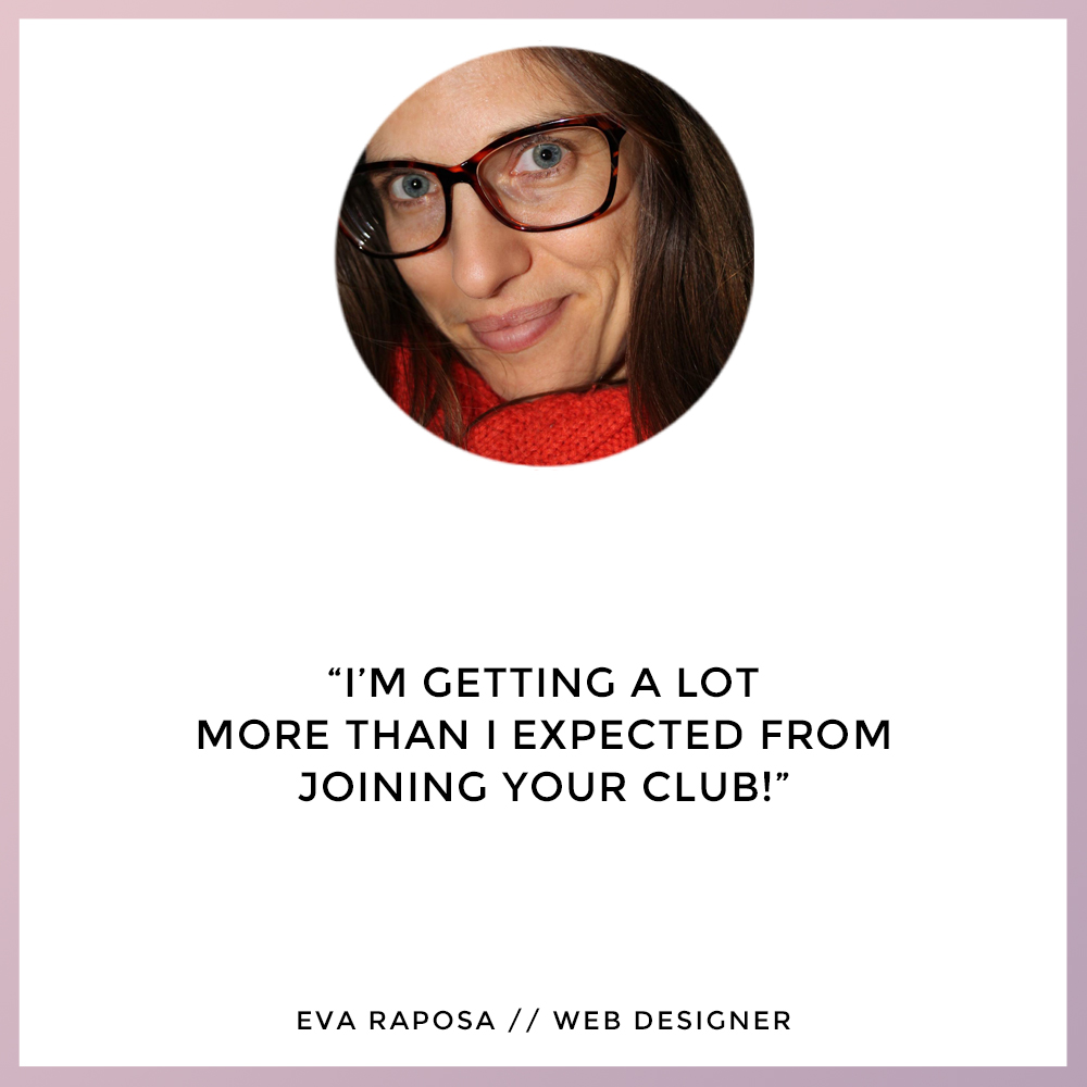 Eva Raposa - The Self Care Club