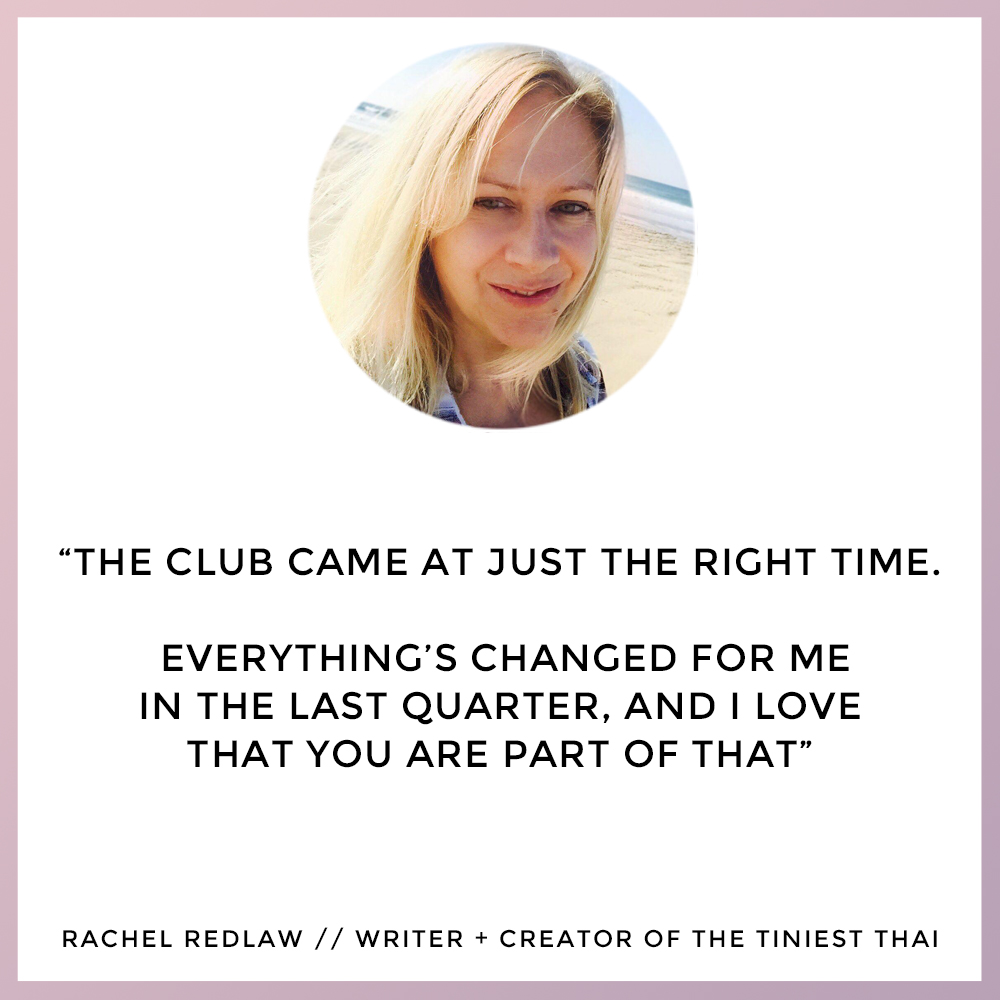 Rachel Redlaw - The Self Care Club