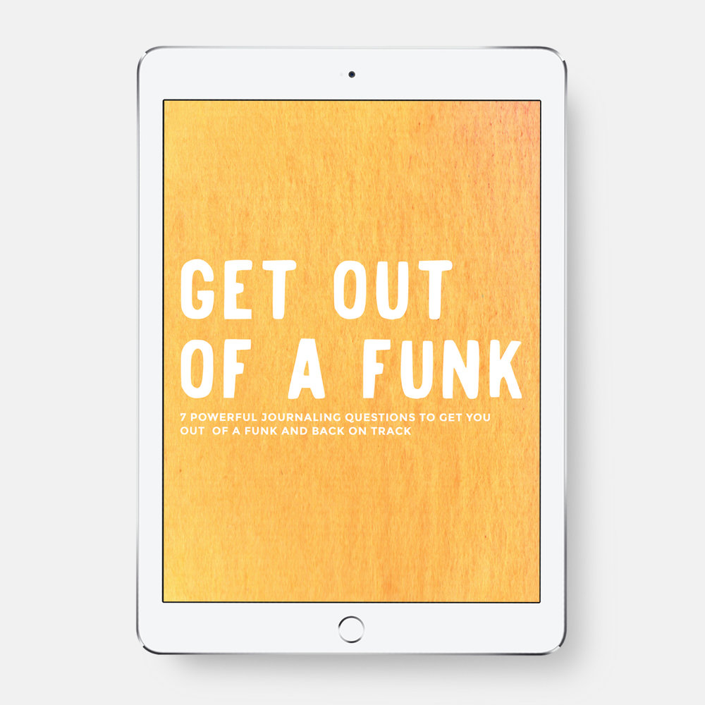 Get Out Of A Funk