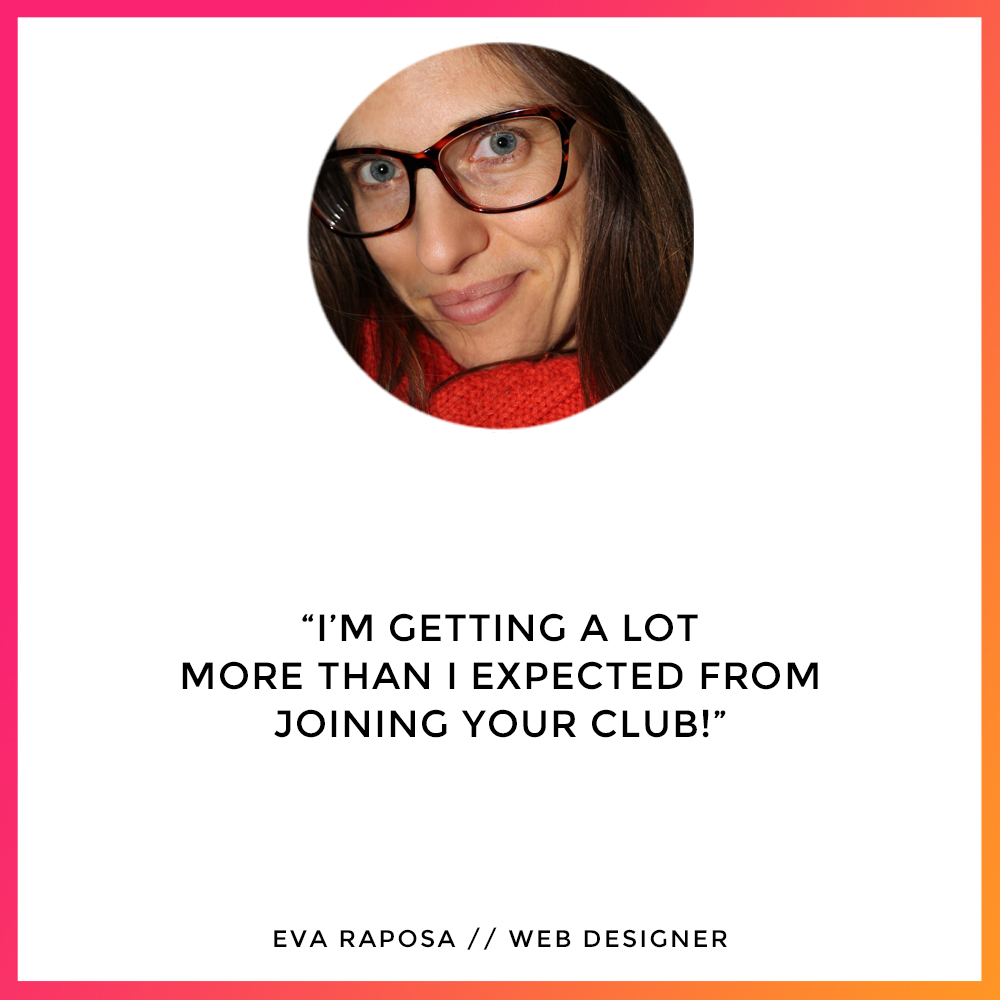 Eva Raposa - The Lifestyle Designers Club