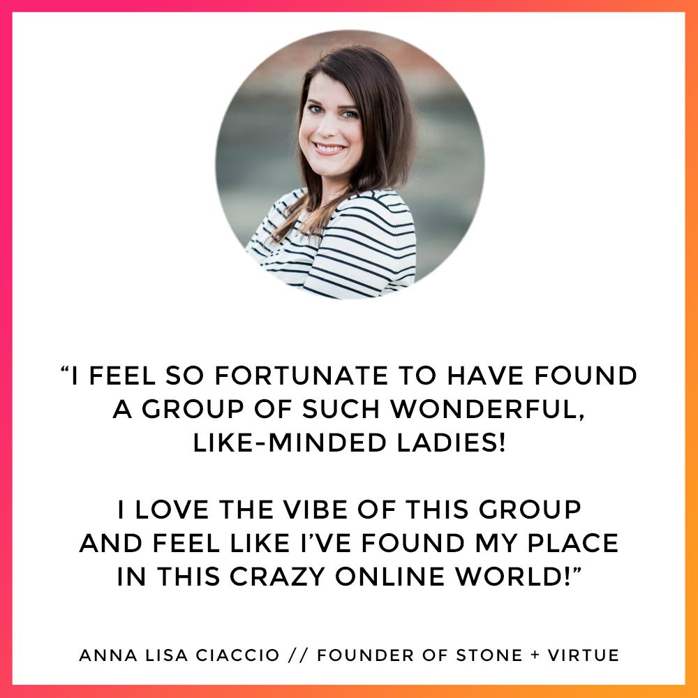 Anna Lisa - The Lifestyle Designers Club