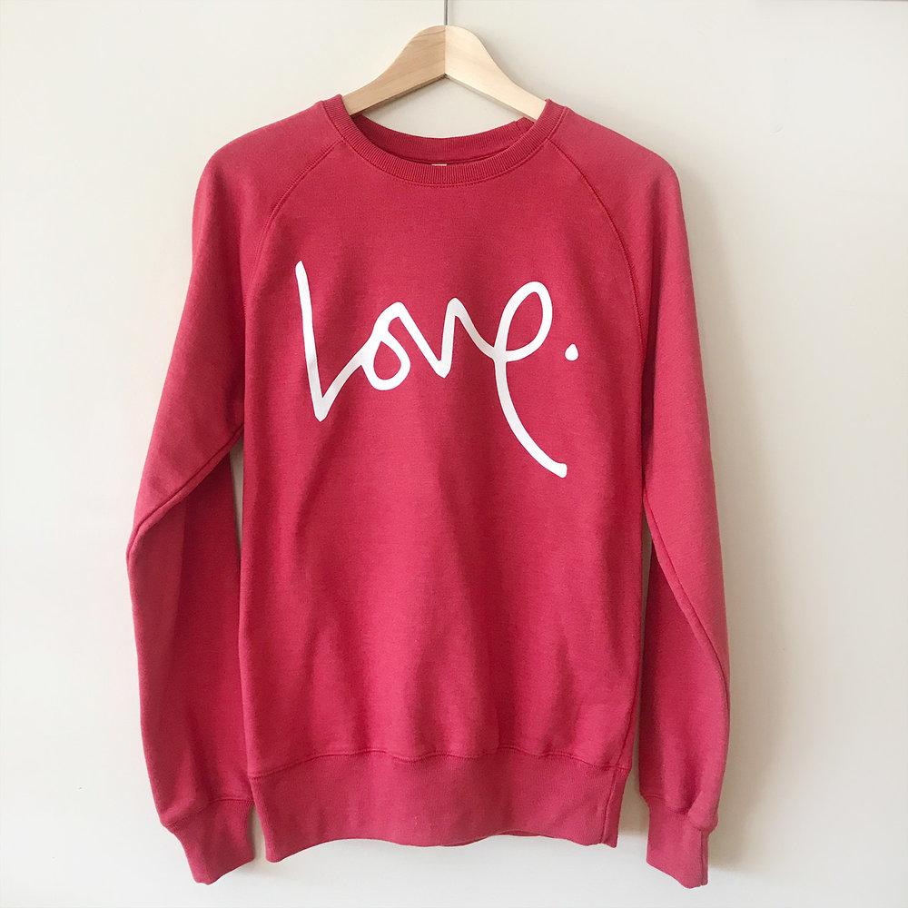 Love Sweatshirt - RUTH XO
