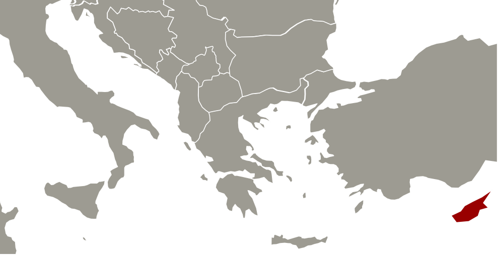 Buying Real Estate In Cyprus By AP Invest - Cyprus map png