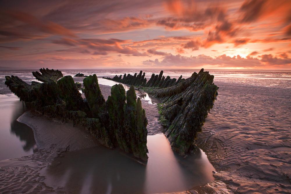 Berrow Beach Wreck