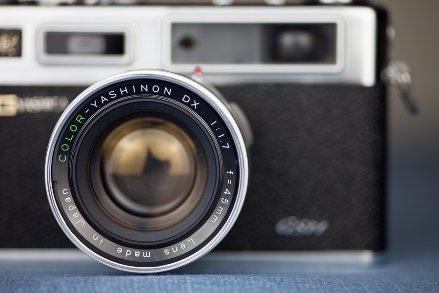 Using a 45mm f/1.7 lens means that the camera can take photos in lower light conditions.