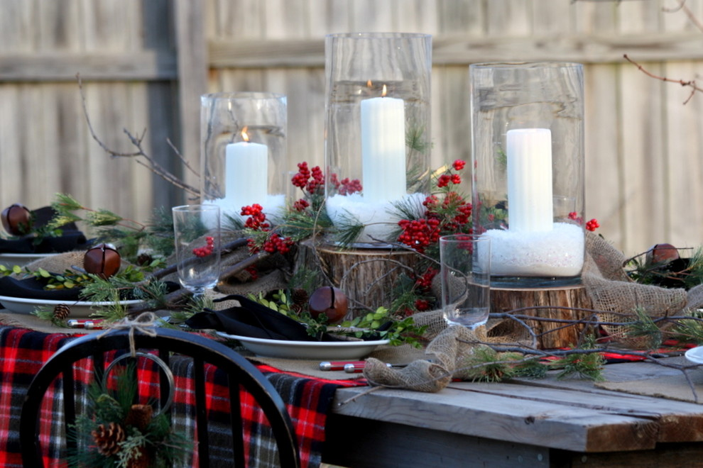 Diy-pillar-candle-holder-dining-room-rustic-with-outdoor-dining-christmas-decorations-plaid-blanket-8.jpg