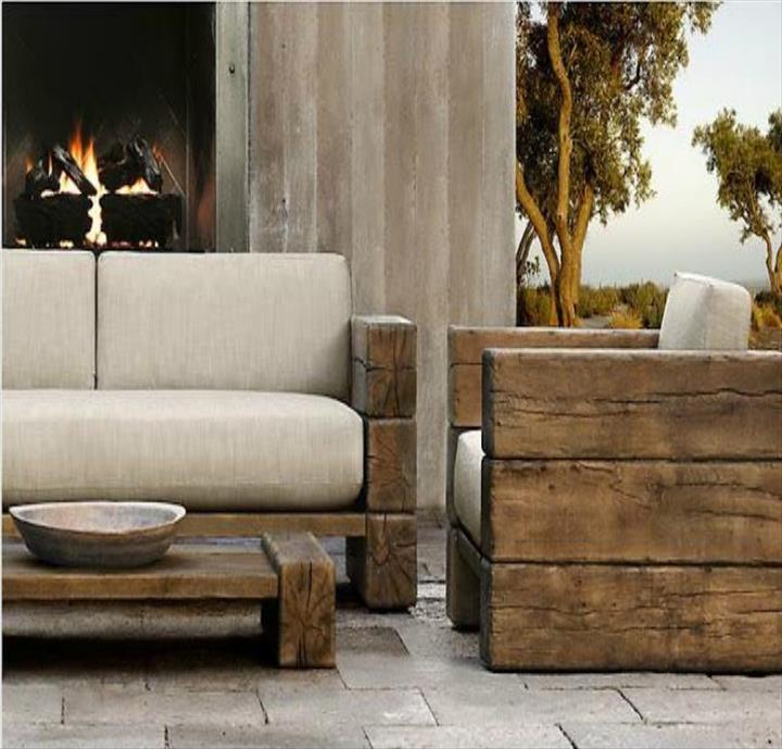 rustic outdoor furniture. Best-modern-rustic-outdoor-furniture-modern-wooden-outdoor- Rustic Outdoor Furniture O