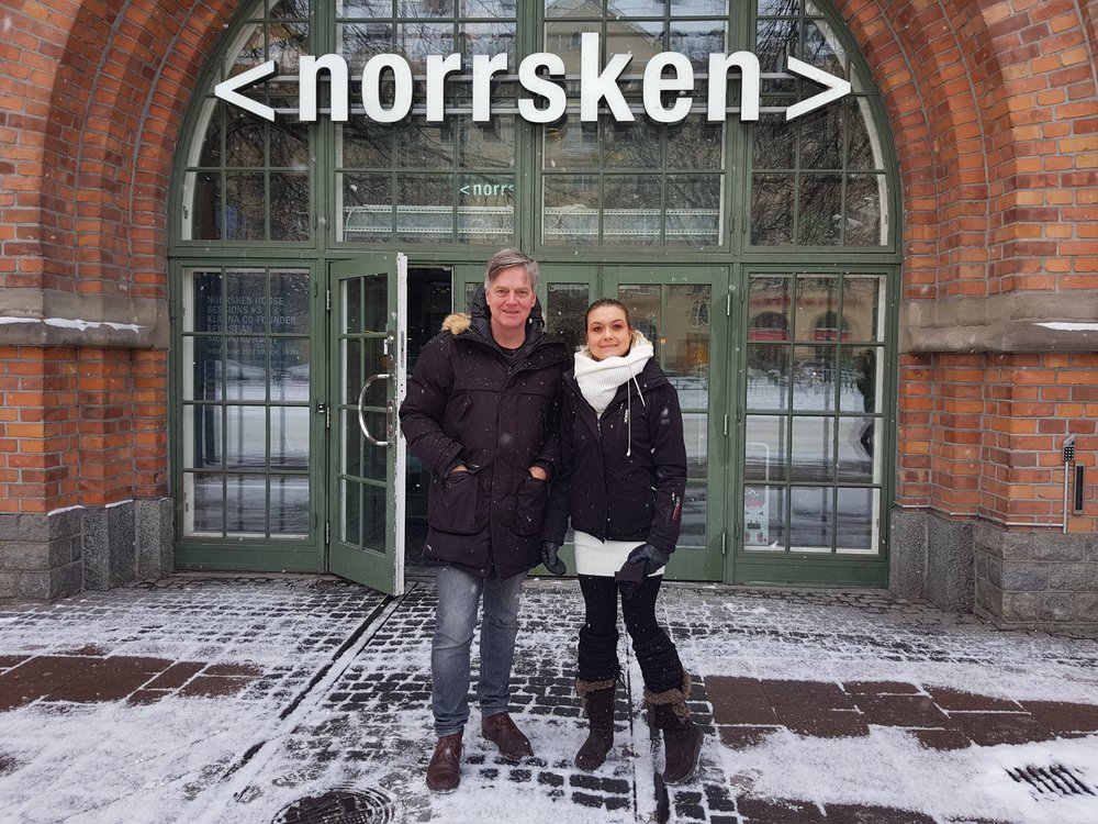 Moving into the Norrsken House.  Ylva Nicolae Santesson  will take a seat. Norrsken House is a creative cluster for more than 300 entrepreneurs in Stockholm solving some of the biggest challenges of our time.