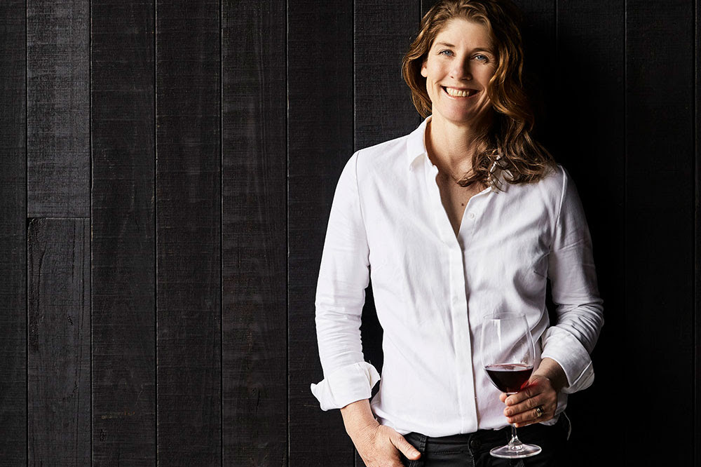Mornington Peninsula's star winemaker, Geraldine McFaul is married to Plunge Wine Tour's Arthur O'Bryan