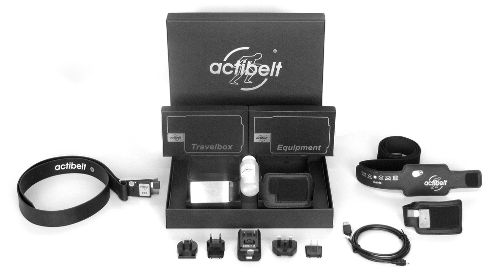 actibelt® devices were used in the study. actibelt® is a registered trademark of Trium Analysis Online GmbH.  http://www.actibelt.com