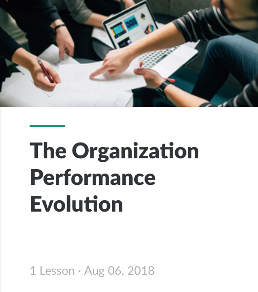Interactive - Organization Performance Evolution