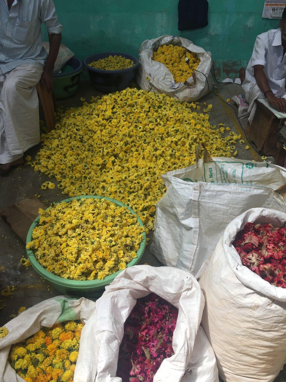 Flower Market, Tamil Nadu