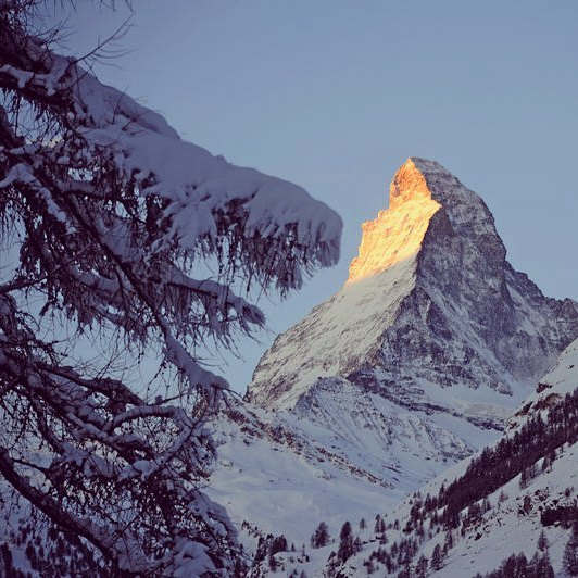 We're super excited to be back in the Swiss Alps this week around one of the worlds most famous peaks the #matterhorn  Share with us your experiences of exploring these famous mountains and #follow us as we look forward to sharing with you our top tips and the fresh tracks we've discovered in one of Europe's true winter playgrounds  #mountain #swissalps #internationalmountainday #snow #ski #adventurer #backcountry #luxuryescapes #mountains #switzerland #freshtracks  #instagood #igers #instasnow #sunrise #morning #travel #explore #discover #destination
