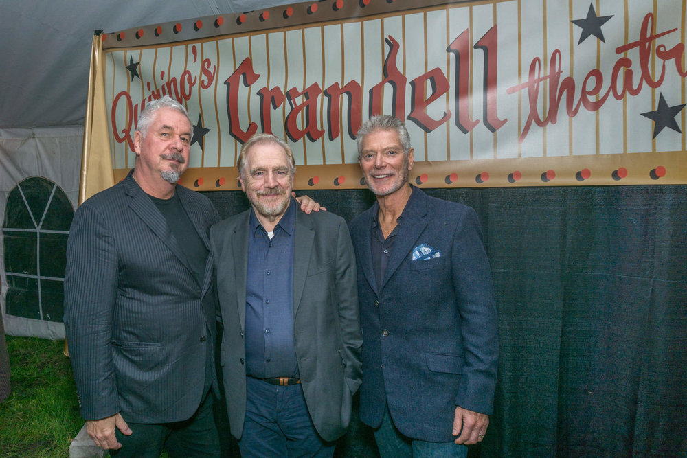 Jack Shear,  Brian Cox, Stephen Lange Spencertown NY