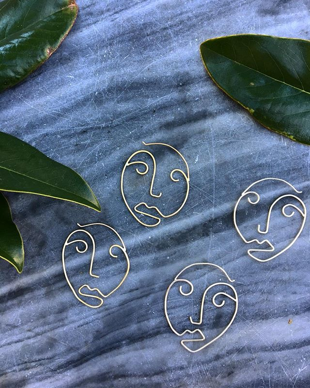 Face Hoops now available in sterling silver ✨
