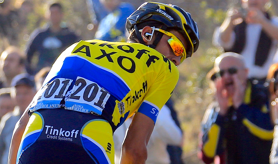 Riding with Tinkoff Saxo