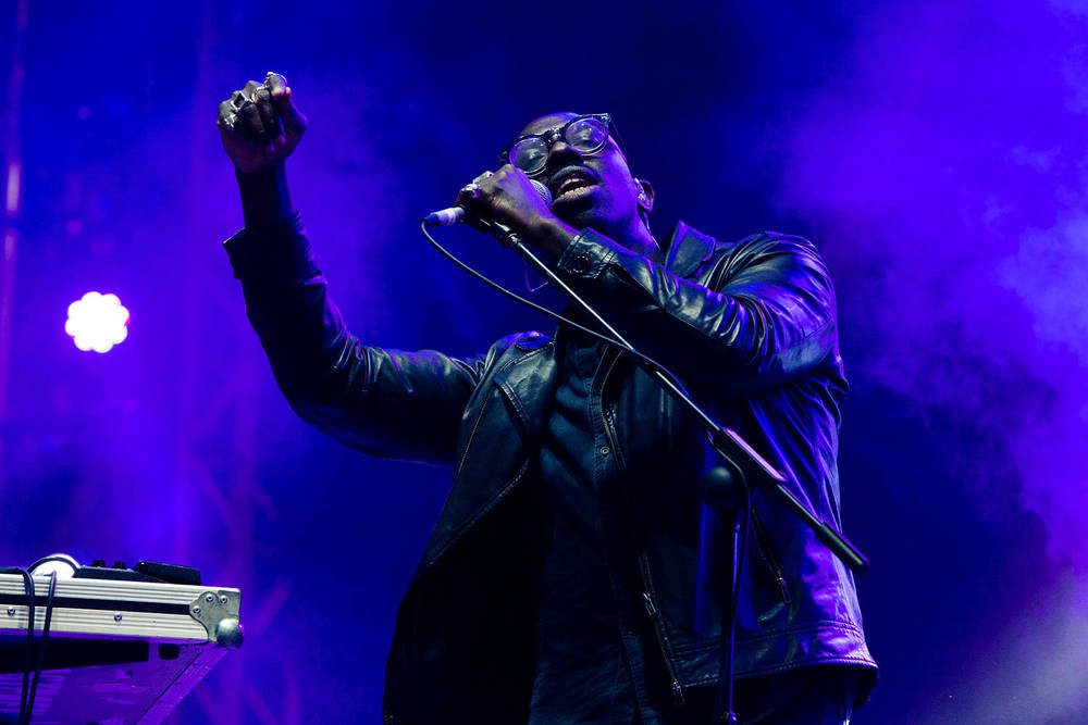 Ghostpoet performing at Reading Festival, UK. Photo: Sidney Bernstein. Courtesy Reading Festival.