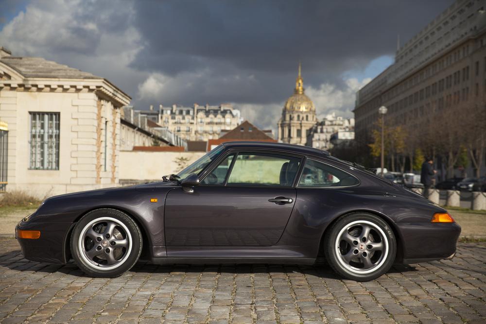 """Arthur's Porsche 993 Carrera S """"Vesuvio""""."""