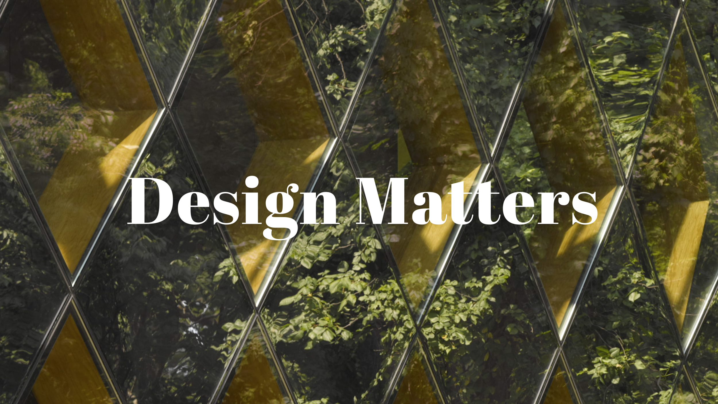 Design Matters video series