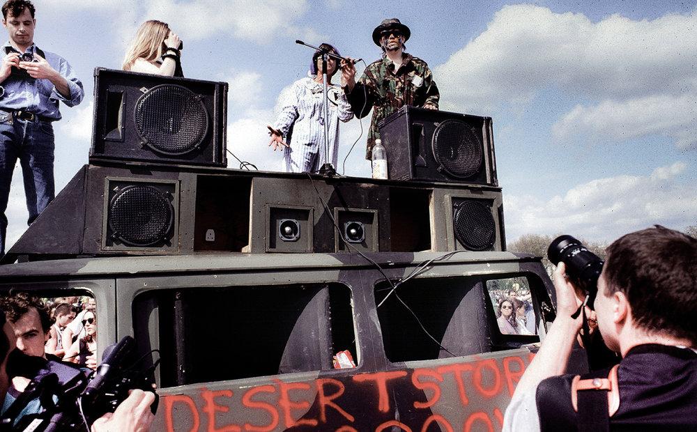 Desert Storm sound system. Photo: Alan Lodge
