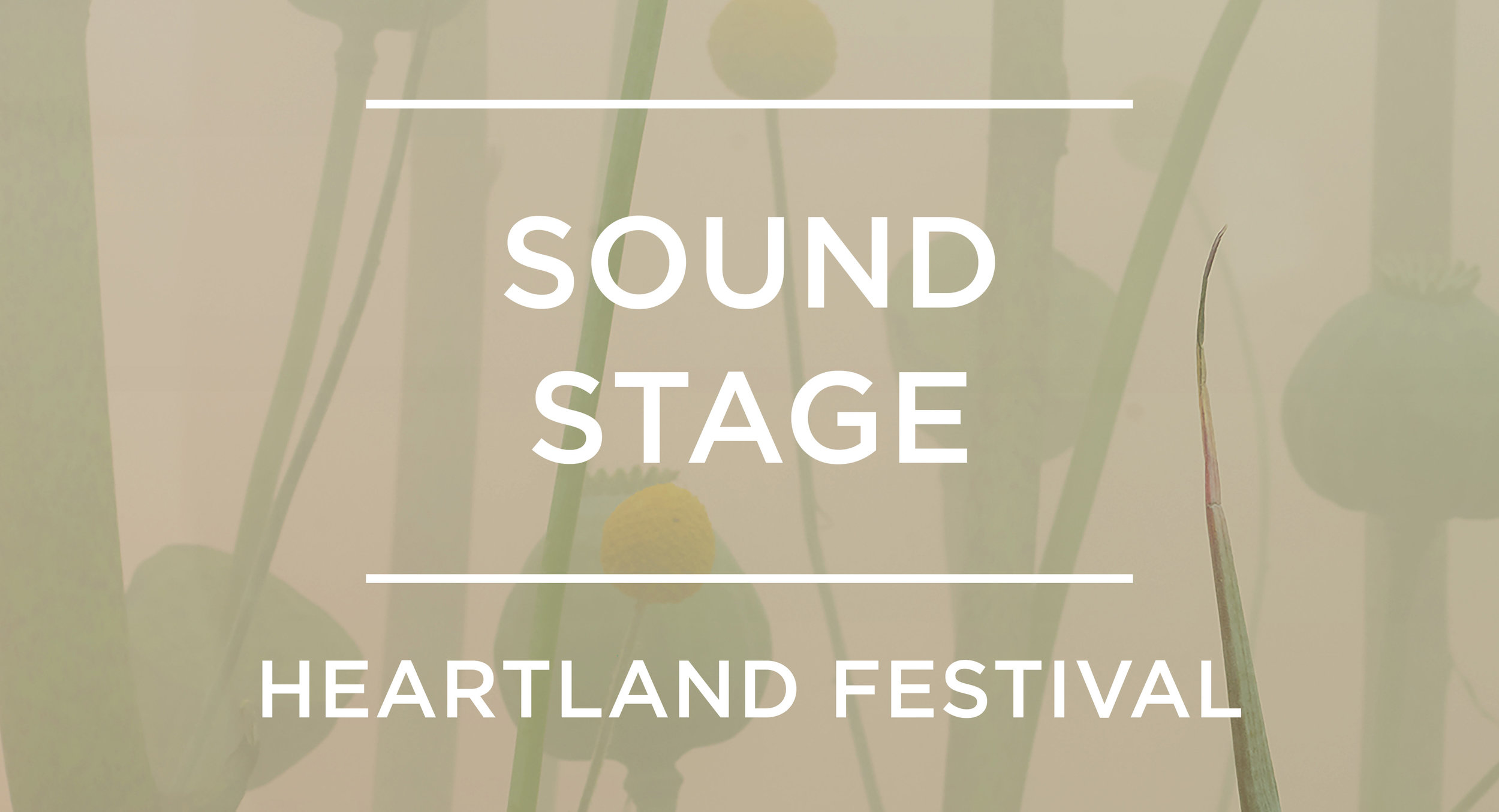 Sound Stage at Heartland Festival