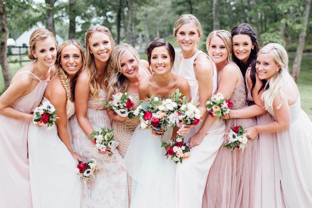 Morrice Florist bridal bouquets