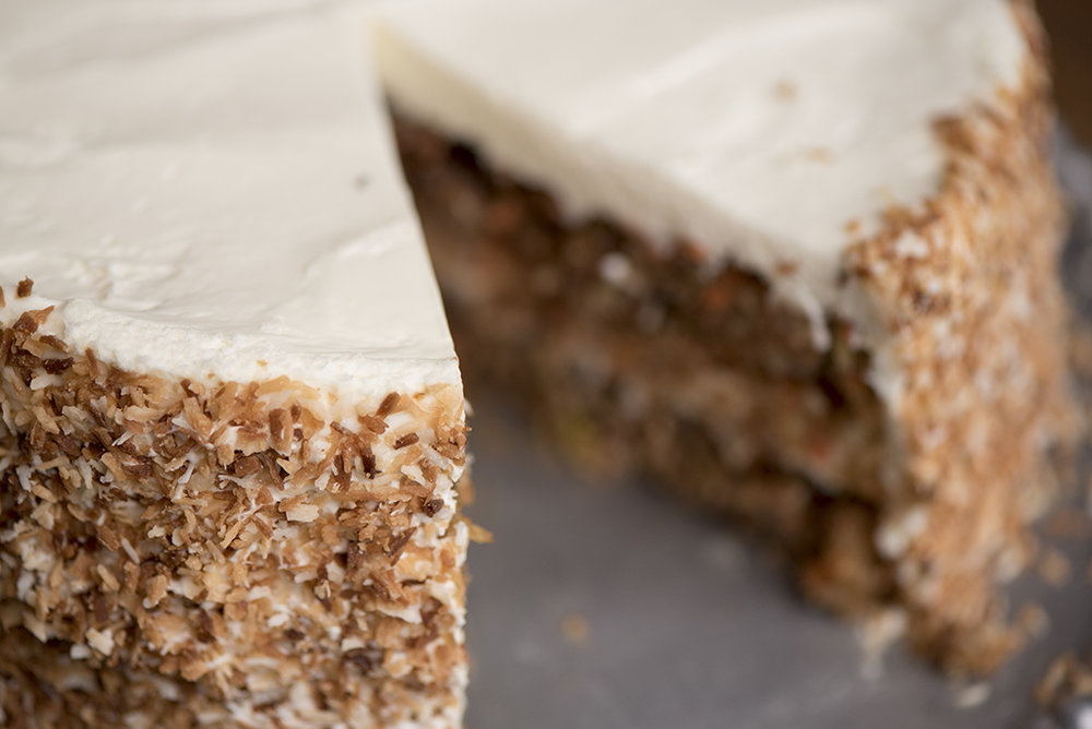 Carrot Cake – Bek's  Fulton, Missouri   For Missouri Life Magazine