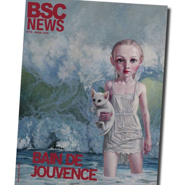 Dear friends in France, BSCnews.fr has made a feature of my work along with an interview about my art and thoughts and life. You're welcome to go and browse thru the online magazine. I don't speak french so I have no idea what it says in the end.. *smile*