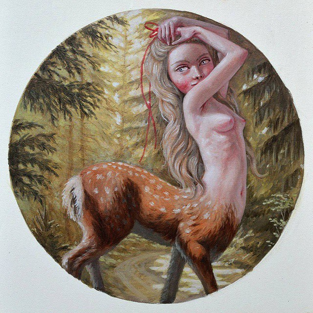 "Here's ""Days of being wild"" from the last year's series on private mythology and fairy tales. A reminder to stay wild at heart on the Earth day, which is in fact every single day of our life on this blue little beautiful planet."