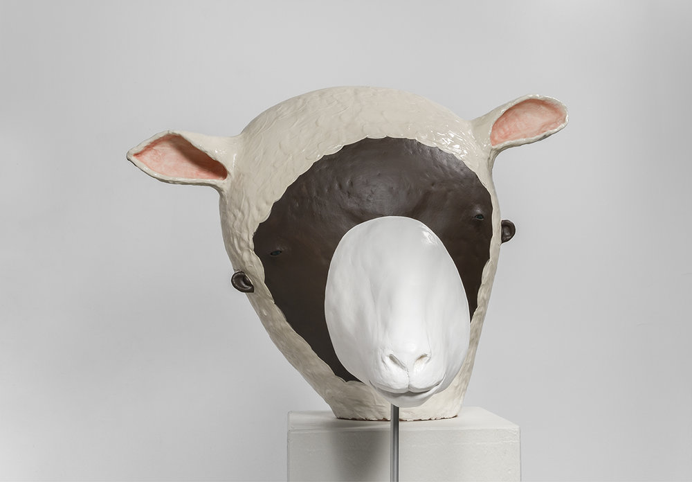 The Scent of Your Hair, 2015 w63cm, h48cm, d35cm Glazed Stoneware