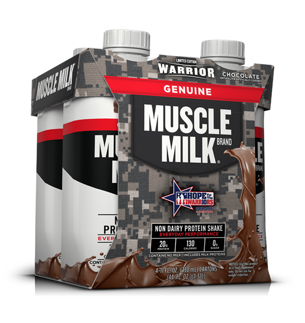 Muscle Milk Military 330mL 4pk (right) - Chocolate.png