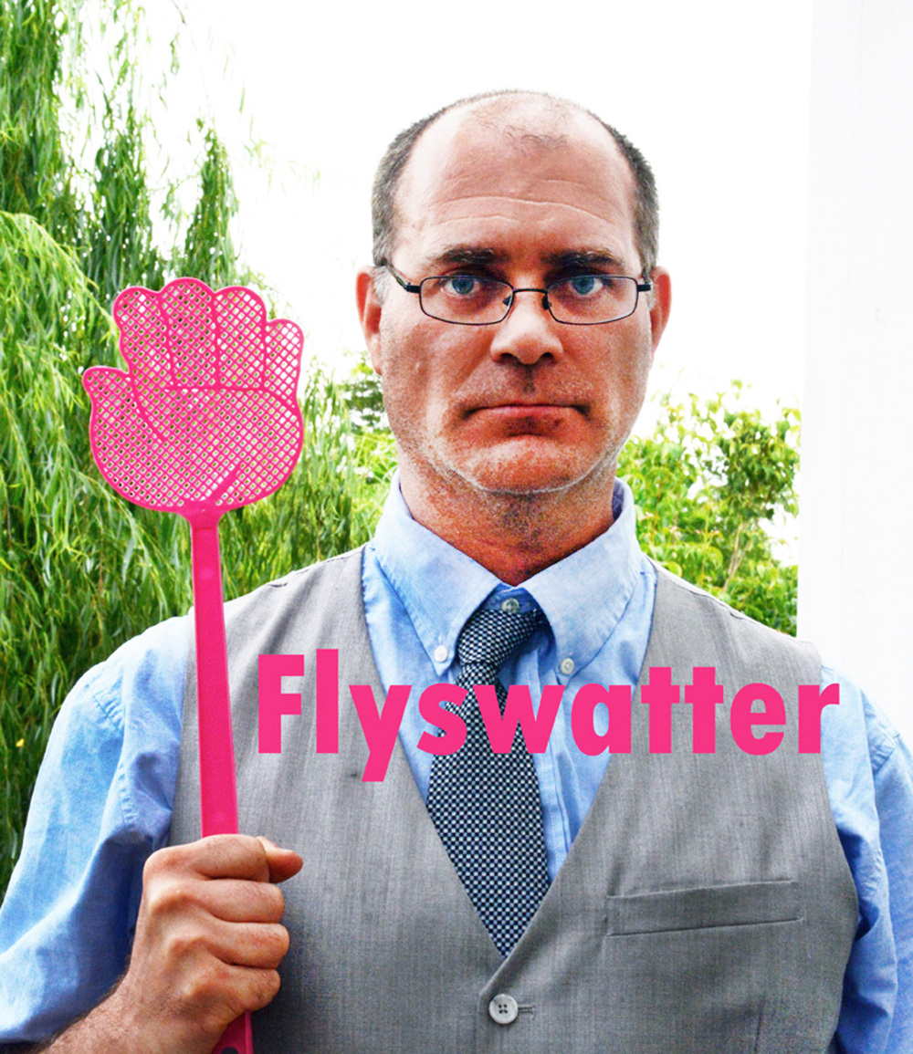What's with the flyswatter furman?  Click=Click