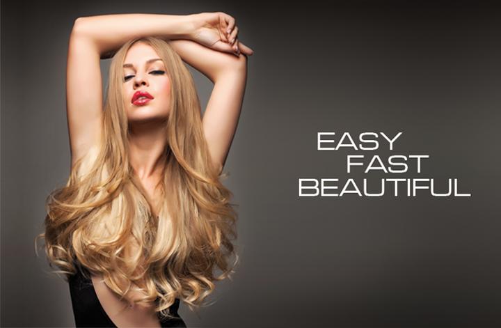 Donia At Trim Salon And Spa Keratin Bonded Hair Extensions By Sop