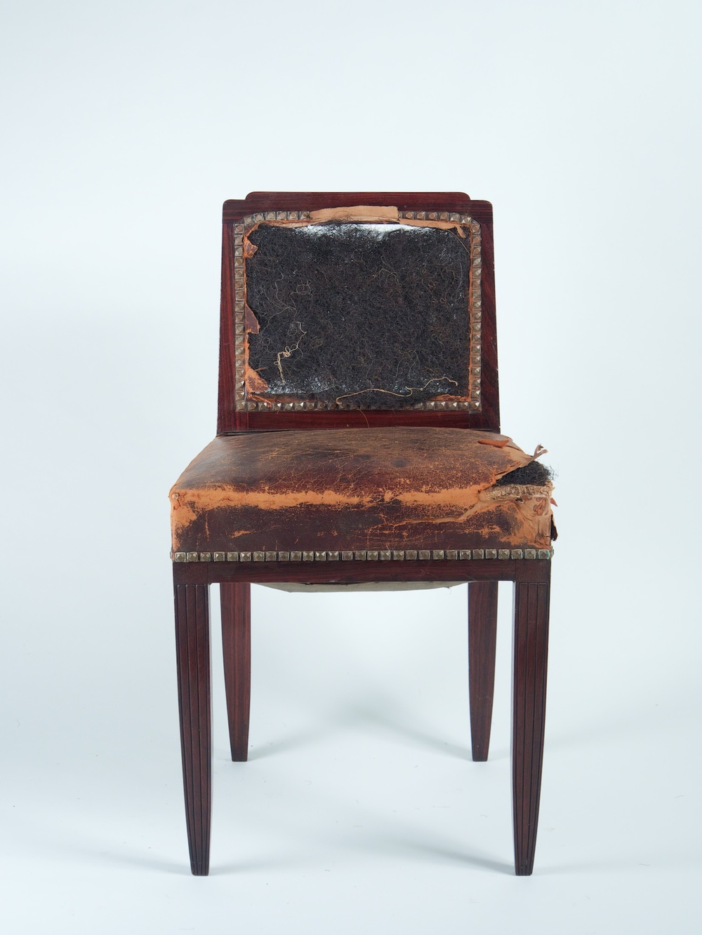 Follot Set Of 8 Rosewood Chairs 1180