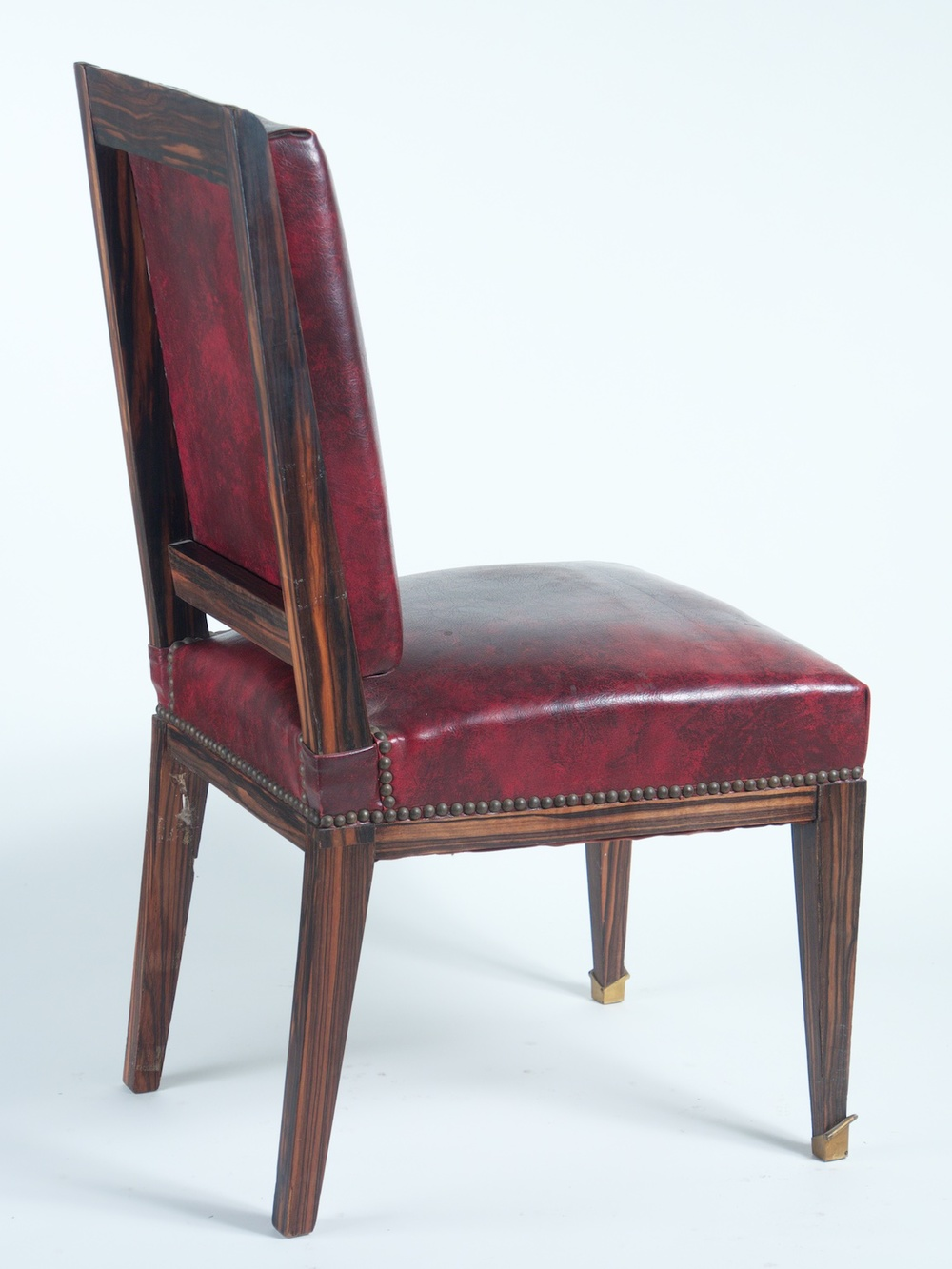 Maxime Old Set Of 6 Dining Chairs (#1200). Maxime Old Dining Chairs  Macassar Ebony ...