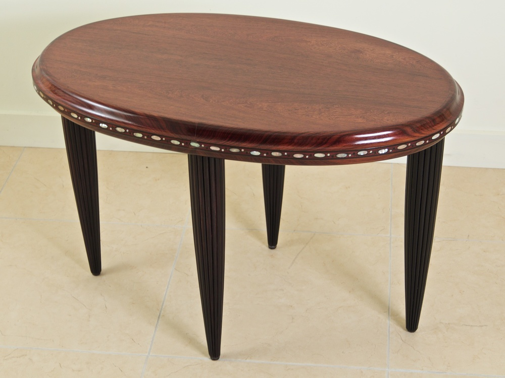 Maurice Dufrene Side/coffee/end Table In Purpleheart (#1217)