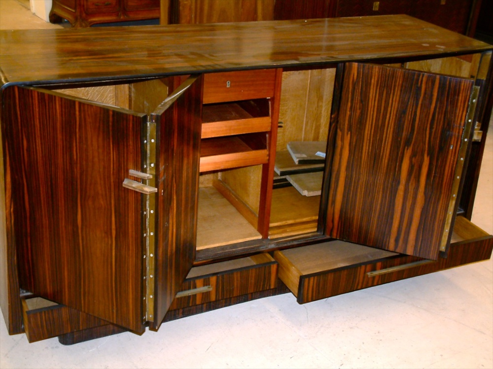 Captivating Jorge Rual Cabinet/buffet In Macassar Ebony (#1237)