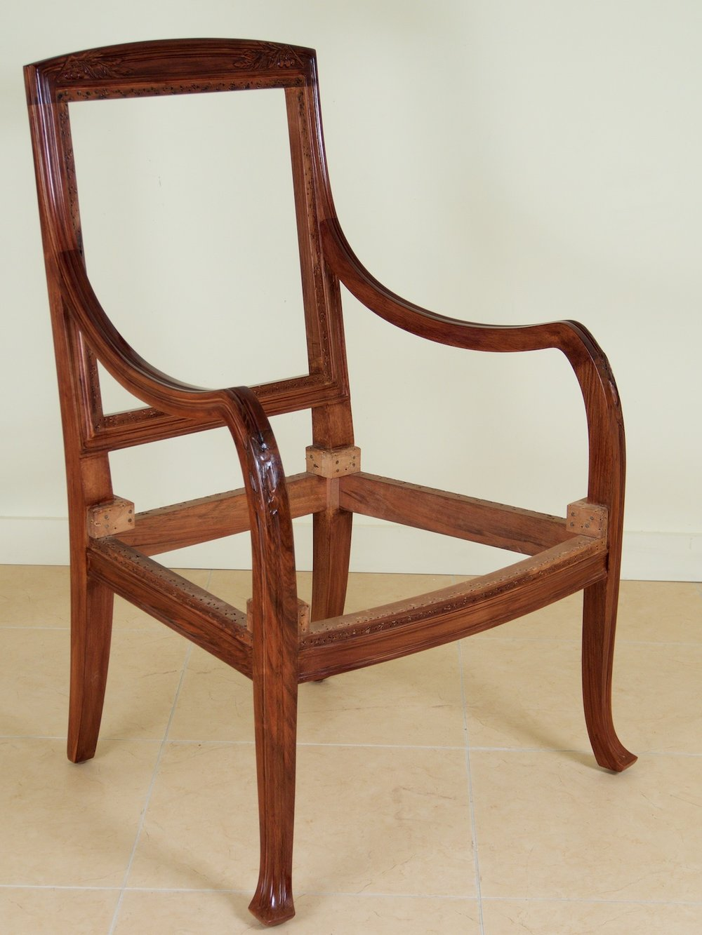 Abel Landry Pair Of Art Nouveau Armchairs (#1373)