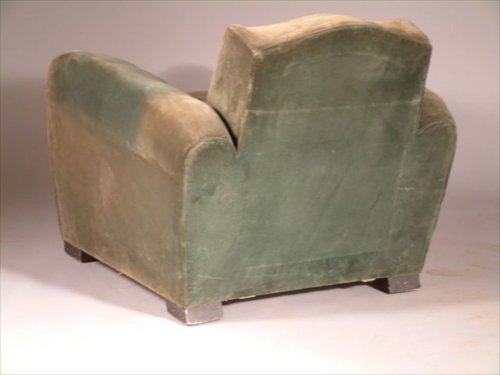 jean pascaud pair of small scale club chairs 1402 calderwood