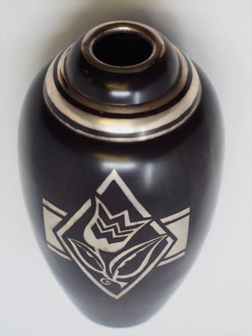 Christofle Vase 1462 Calderwood Gallery