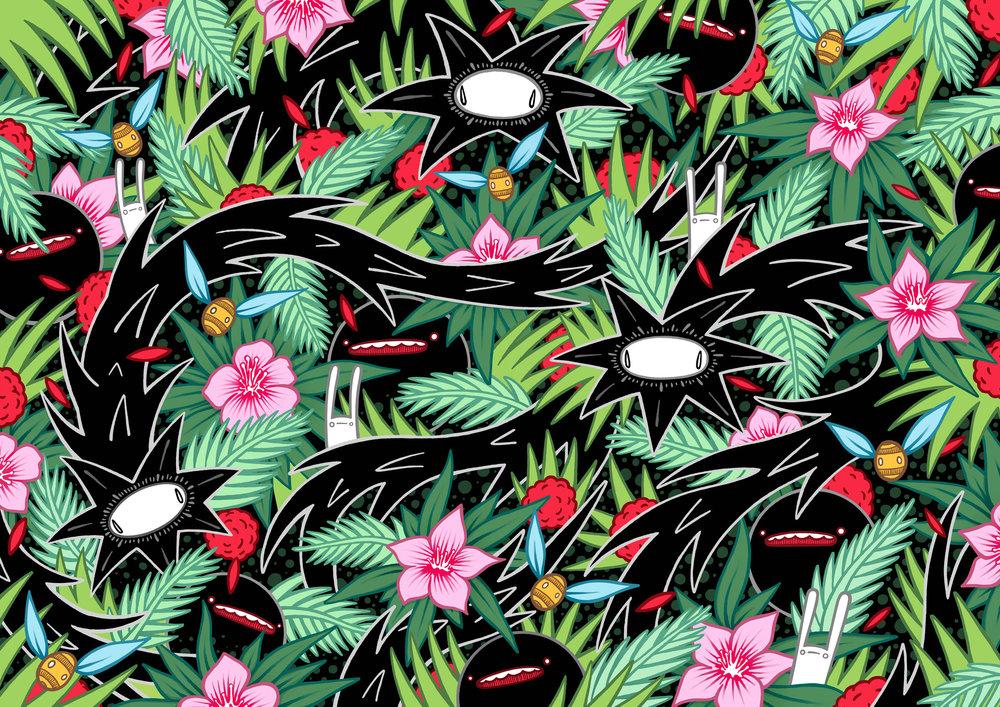 Floral Giclée print
