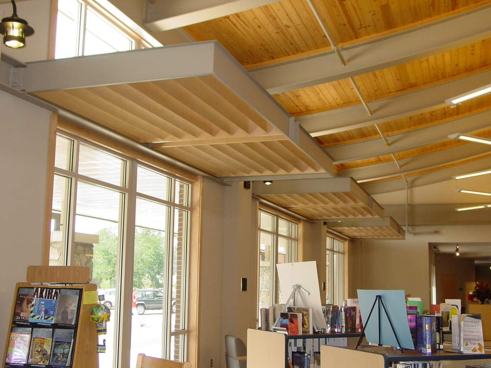 Transylvania County Library -Maple Sound Baffles-