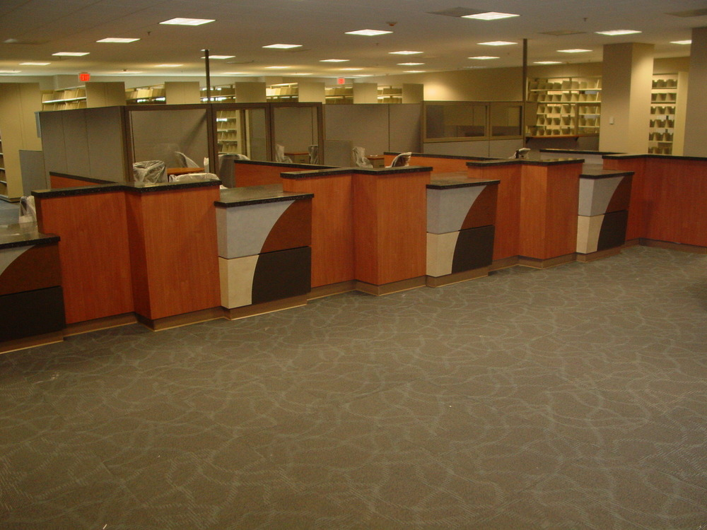 Union County Tax Office -Monroe, NC- Custom Laminate & Corian